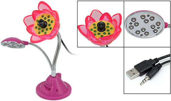flower-cam