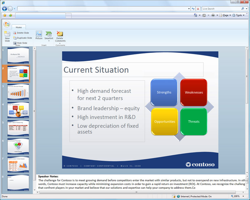 Office Web - PowerPoint