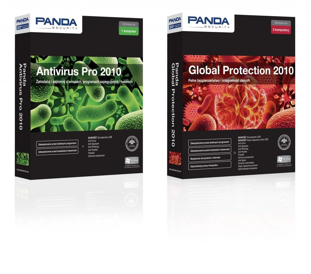 Panda Global Protection 2010 i Panda Antivirus Pro 2010