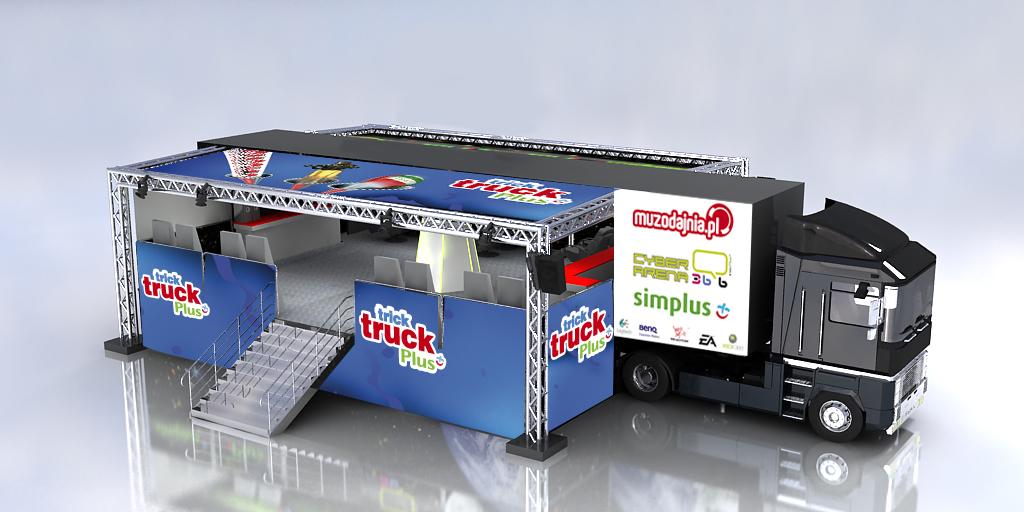 Truck rozłożony