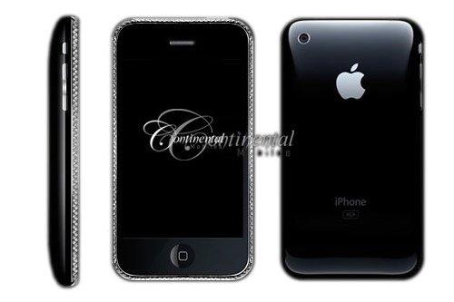 Apple iPhone 3G 16GB Continental z diamentami