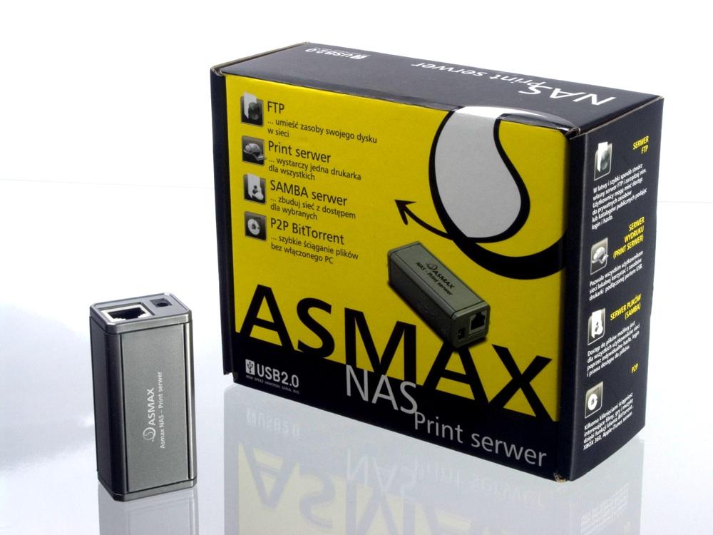 Asmax NAS-Print serwer
