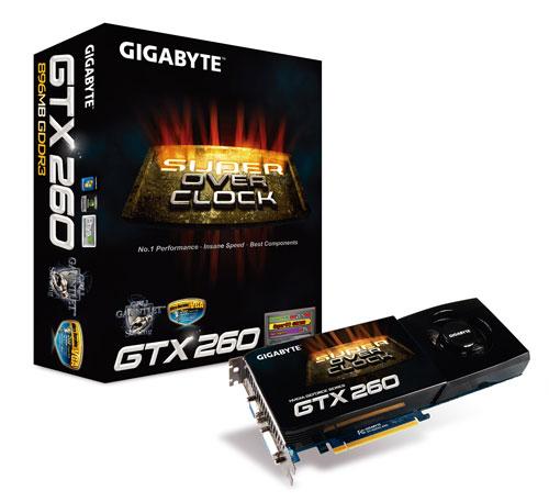 GIGABYTE GTX 260 GV-N26SO-896I