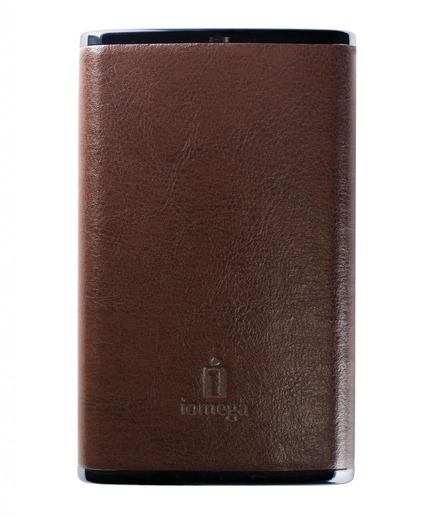 Iomega eGo portable leather