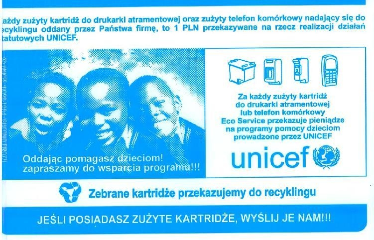 koperta UNICEF