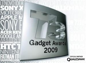 t3 gadget awards 2009