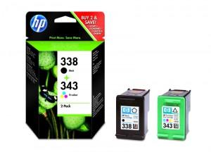 HP Combopack 338/343