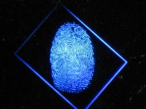 GE -  holograficzny odcisk palca