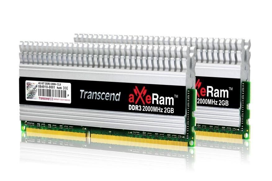 Transcend aXeRam DDR3-2000