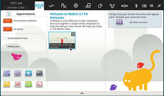 Moblin screenshot
