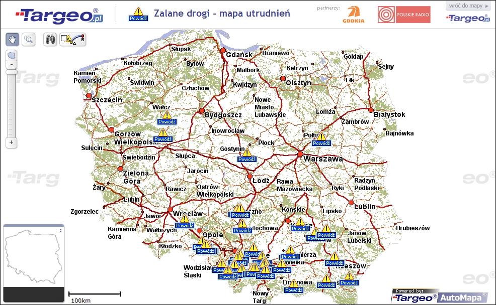 Mapa Mapa Targeo