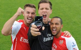 HUAWEI Ascend P7_Arsenal Edition_Players