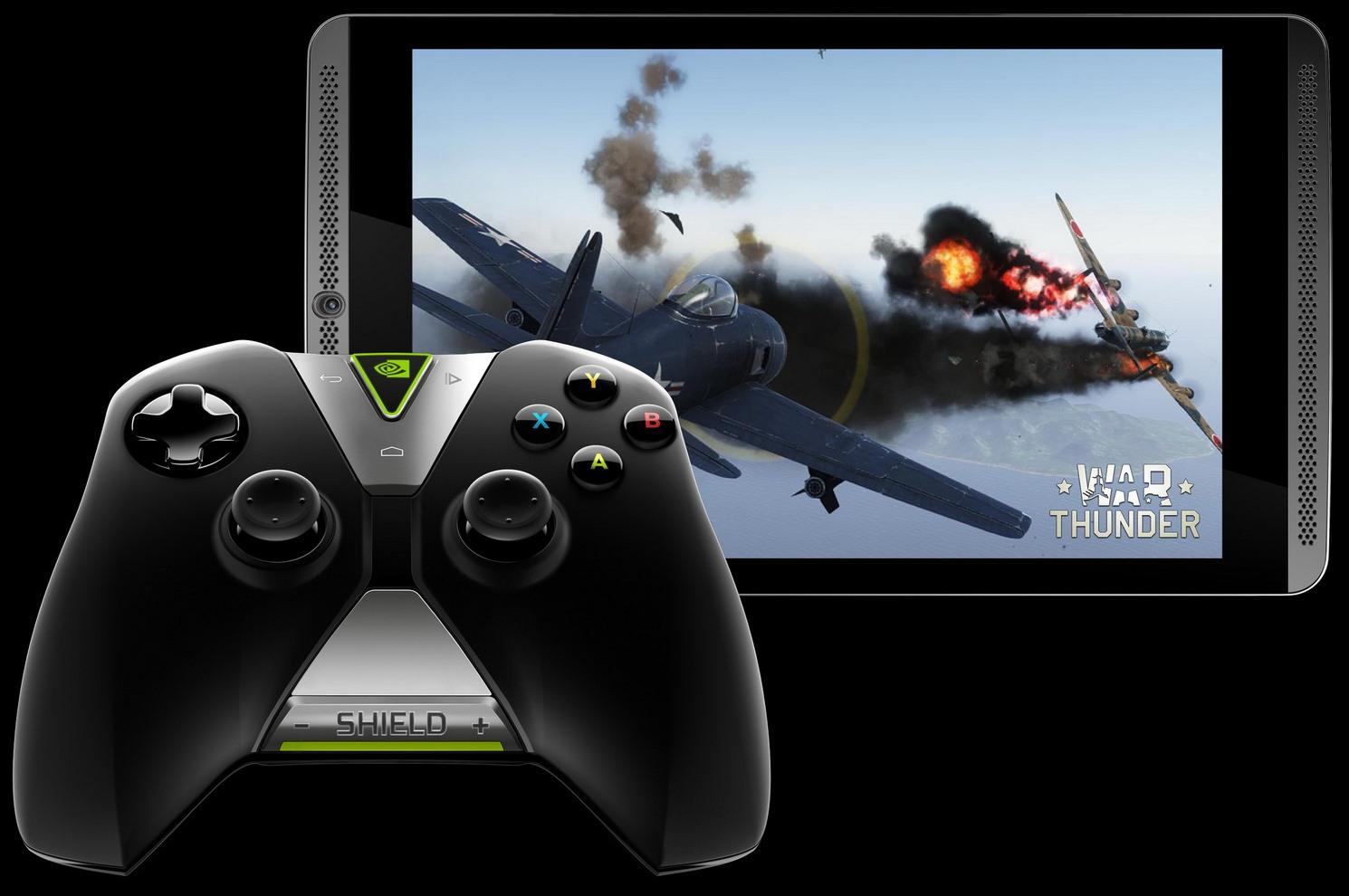 SHIELD Tablet + WC - War Thunder
