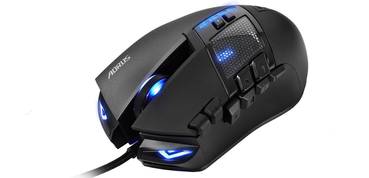 AORUS THUNDER M7 to wyspecjalizowana mysz zaprojektowana dla gier typu MMORPG.