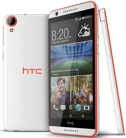 HTC Desire 820_Tangerine White