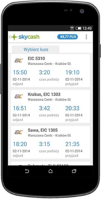 Już wkrótce bilety PKP Intercity kupisz w komórce