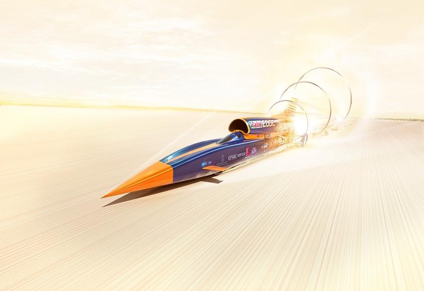 Bloodhound SSC pobije rekord prędkości na lądzie?