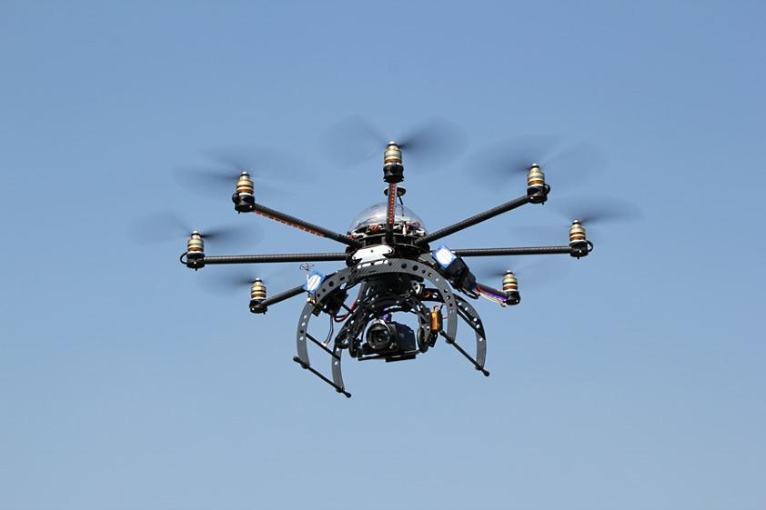 Drony pomogą polskim kurortom nad morzem