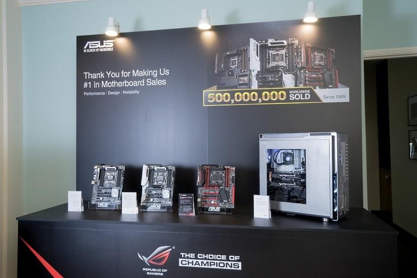 ASUS sprzedał 500 milionów płyt głównych