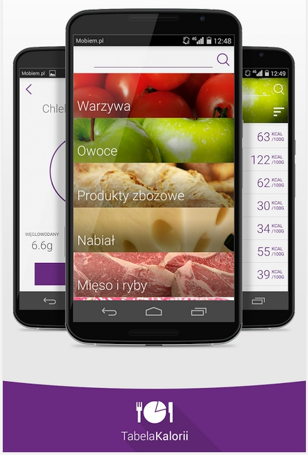 Aplikacja Tabela Kalorii 2