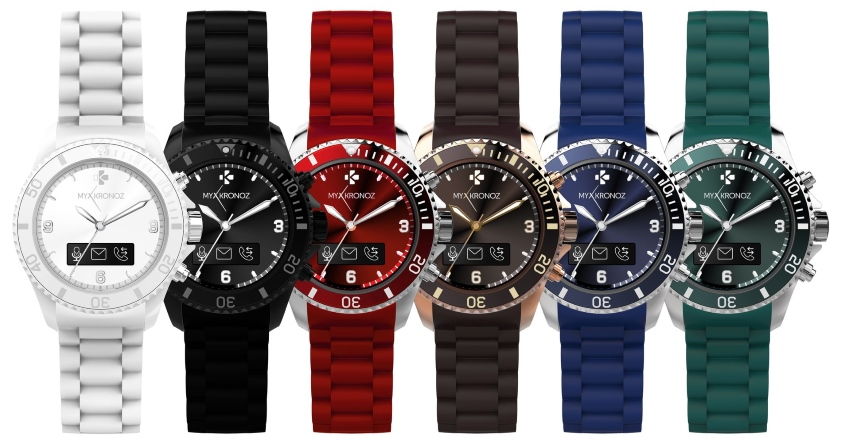 MyKronoz ZeClock - hybrydowy smartwatch
