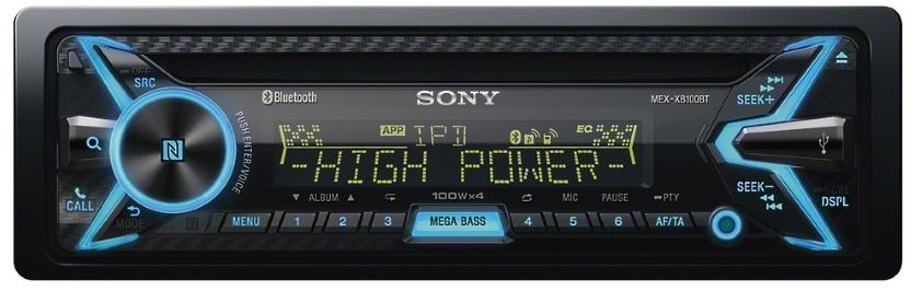 radioodtwarzacz Sony MEX-XB100BT