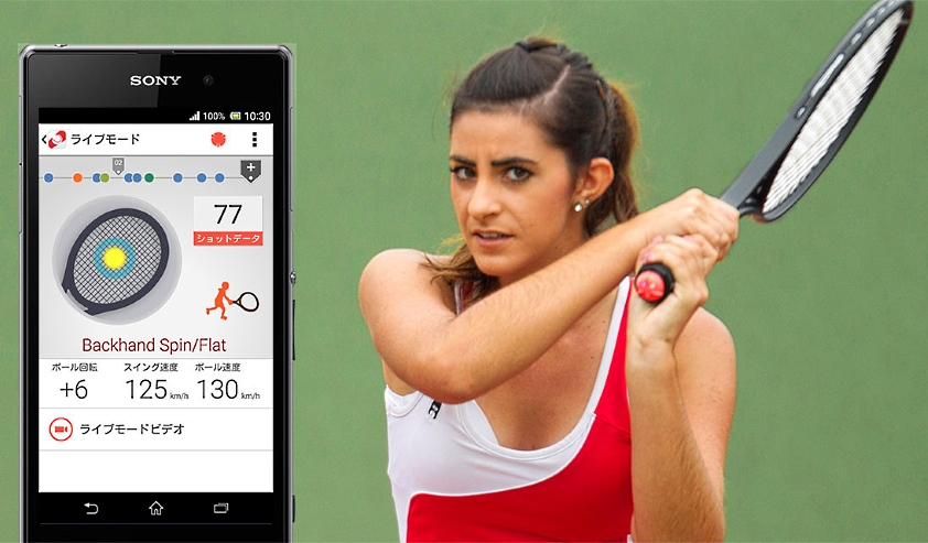 czujnik Smart Tennis Sensor SSE-TN1W2