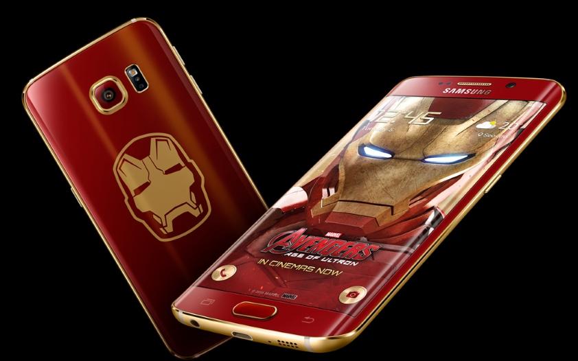 Galaxy S6 Edge Iron Man - smartfon dla fanów Avengers