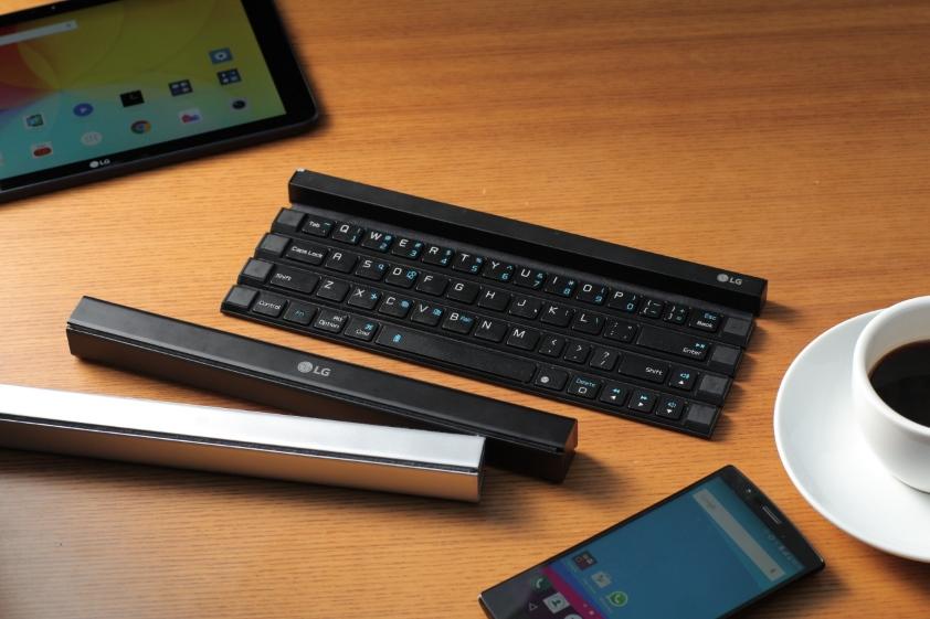 LG ROLLY – zwijana klawiatura do urządzeń mobilnych