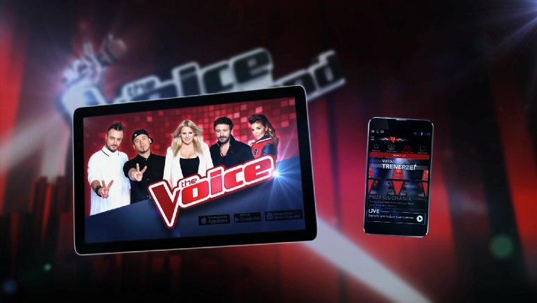"""Aplikacja """"The Voice of Poland – Zostań Trenerem"""""""