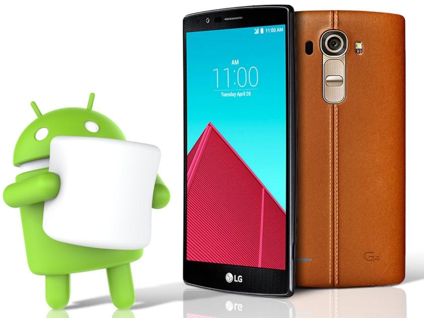 Android 6.0 Marshmallow dla polskich użytkowników smartfona LG G4