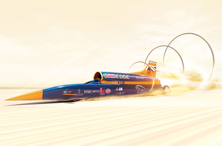 bolid Bloodhound SSC