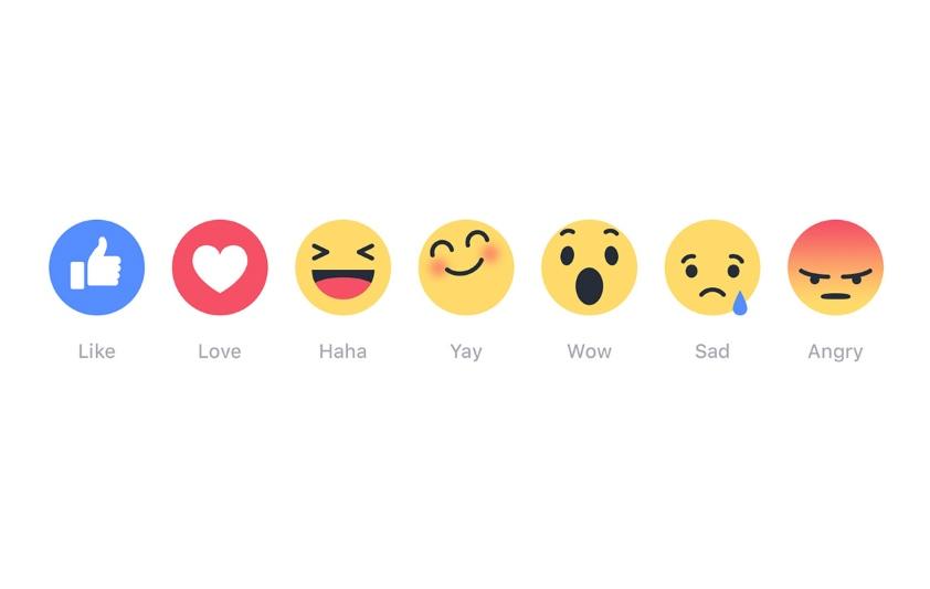 """Facebook wprowadził """"Reakcje"""""""