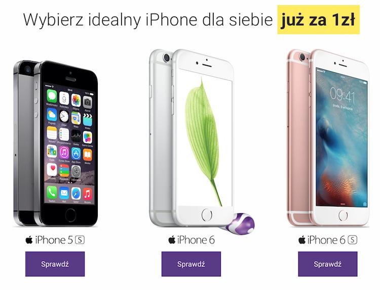 Iphone - w której sieci wybrać