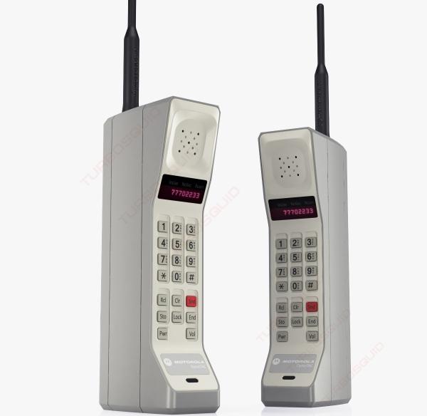 Motorola DynaTAC - Historia telefonów komórkowych