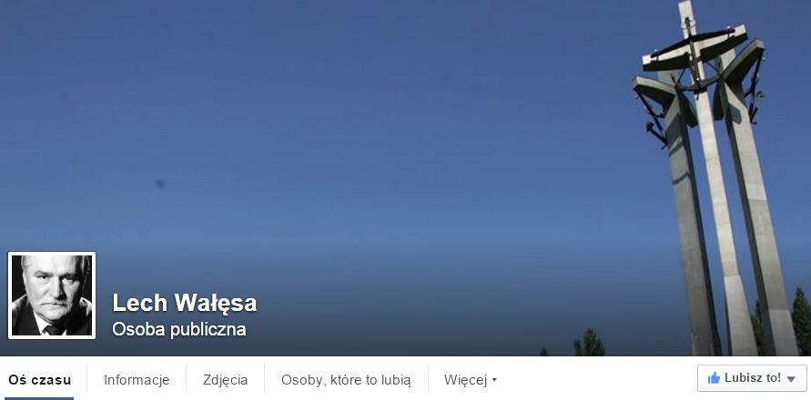 Wałęsa uciekł z Wykopu na Facebooka