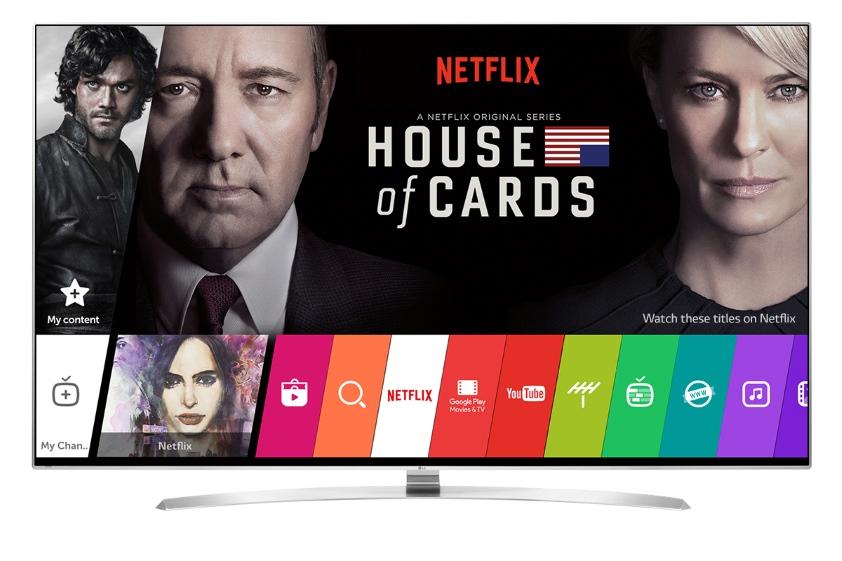 "LG 4K wyróżnienie ""Netflix Recommended TV"""