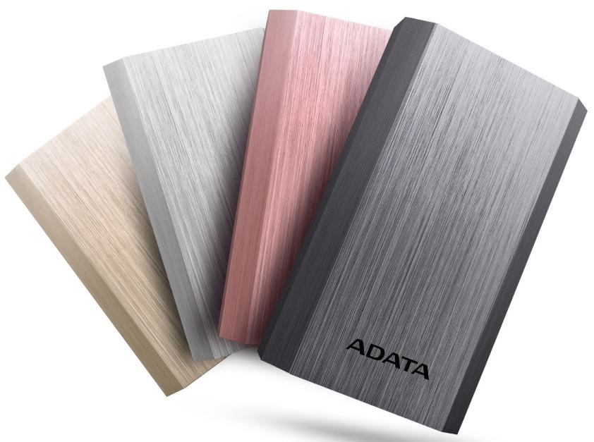 Elegancki power bank ADATA A10050