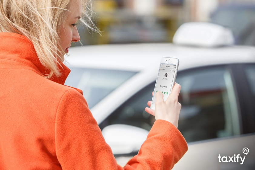 Aplikacja Taxify