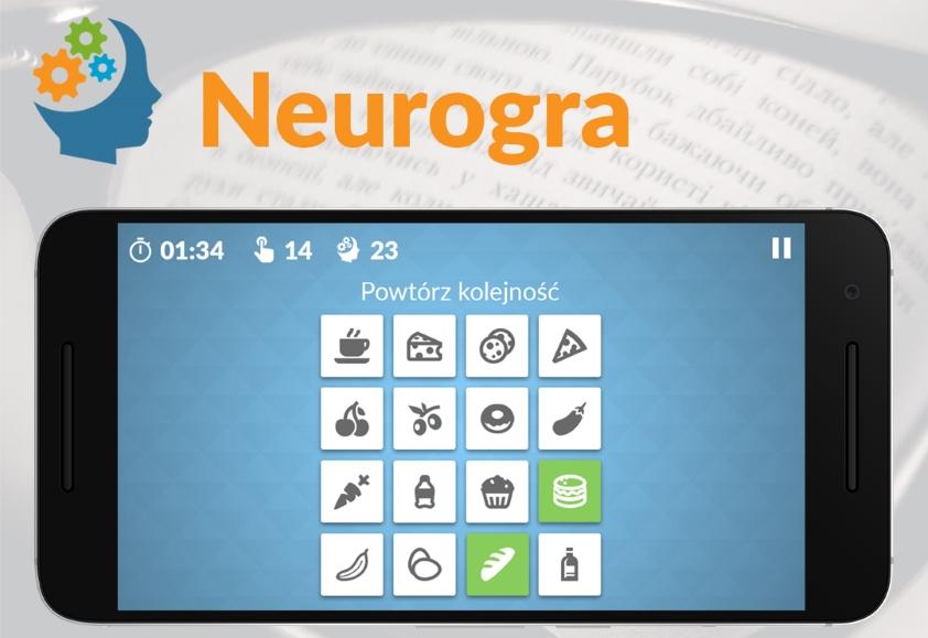 Neurogra - polska aplikacja do ćwiczenia mózgu