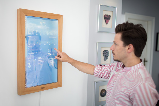 DIRROR - pierwsze na świecie cyfrowe lustro