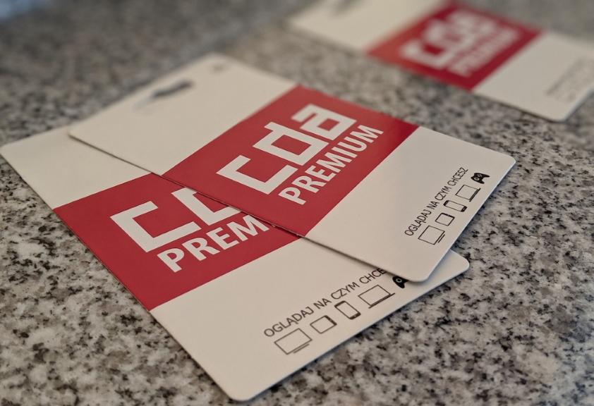 Kody dostępu (blistry) CDA Premium