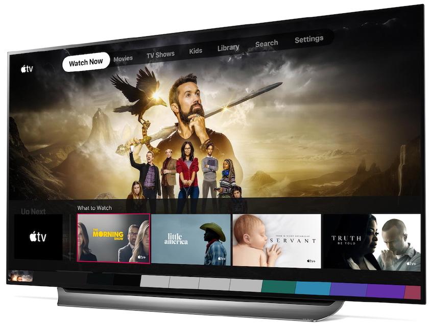 LG aplikacja Apple TV