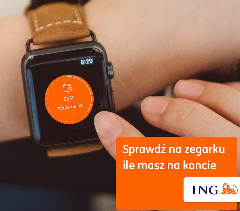 Apple Watch Moje ING