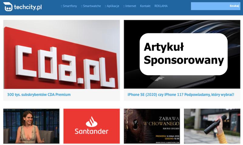 Artykuł Sponsorowany w Techcity.pl