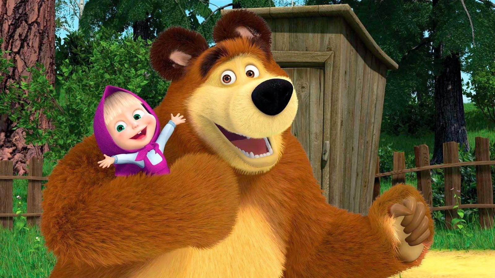 Masza i Niedźwiedźw CDA Premium