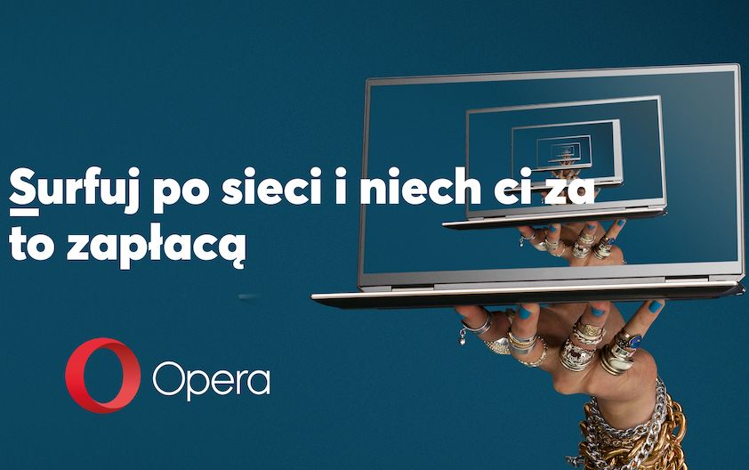 Opera szuka surfera internetu