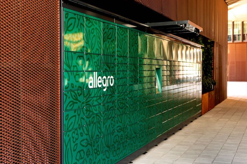 Allegro stawia ekologiczne automaty paczkowe
